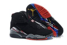 """sports shoes 040d8 ea844 Find New Air Jordan 8 """"Playoffs"""" Black True Red-White For Sale online or in  Footseek. Shop Top Brands and the latest styles New Air Jordan 8 """"Playoffs""""  ..."""