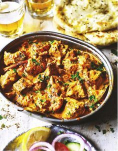 This recipe for homemade Butter Chicken will taste like the ones at your local curry house—only better. Tandoori Restaurant, Curry Night, Indian Food Recipes, Ethnic Recipes, Homemade Butter, Man Food, Marinated Chicken, Indian Dishes, Butter Chicken