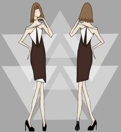 Ilustração de Moda.