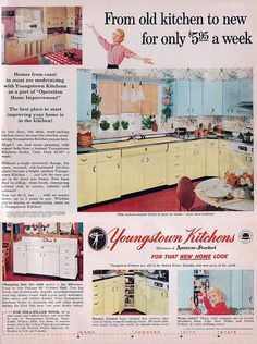 Youngstown Kitchens Ad