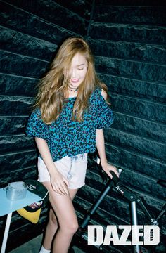 Jessica - Dazed and Confused Magazine July Issue '15