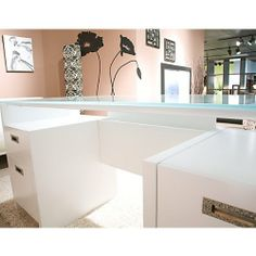 amazoncom kathy ireland office by bush furniture new york skyline 63 inch amazoncom bush furniture bow