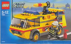 City - Airport Firetruck [Lego 7891]
