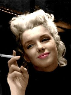 Marilyn Monroe.  ...seriously, someone point out ONE flaw on her face!