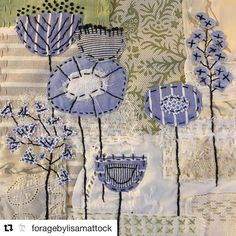 Come and join textile artist, Lisa Mattock as she shares with you the art of slow stitching. You will create a whimsical, layered, textile artwork which can then be framed or added to a cushion cover, quilt, bag or anything! Held over two Fridays in October, five hours of creative time out with a yummy morning tea. Call to book you spot, places are limited. @foragebylisamattock #slowstitching