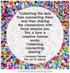 Creative Humans Do These 3 Things - Jill Allison Bryan Creative Oasis Coaching™ - Dresden Dolls, Amanda Palmer, Jane Lynch, S Word, 3 Things, Creative Inspiration, Breakup, Tori Amos, Neil Gaiman