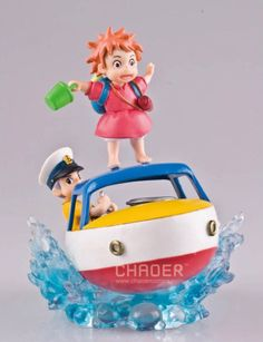 Find More Action & Toy Figures Information about Pop Classic Anime Hayao Miyazaki Studio Ghibli Ponyo on the Cliff Ponyo Sosuke/Sousuke On Skiff Figure Toys,High Quality Action & Toy Figures from COCOCOCO on Aliexpress.com