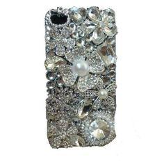 Amazon.com: HOT! Luxury Diamond 3d Handmade Crystal & Rhinestone Iphone 4 case/cover by Jersey Bling