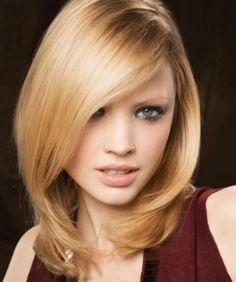 Medium Hairstyles for Oval Faces | Best Hairstyles 2015 | Hot Haircuts
