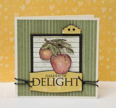 """""""Garden of Delight"""" card idea from #CTMH."""
