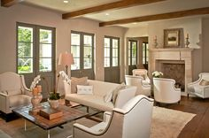 Love the idea of using doors instead of windows to look out onto the pool/patio area.  THOMPSON CUSTOM HOMES like the doors