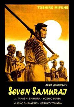 Seven Samurai  #movie #movieposter