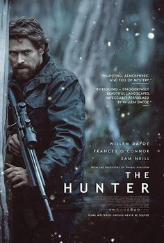 Willem Dafoe hunting something that is supposed to be extinct, I'm sold!