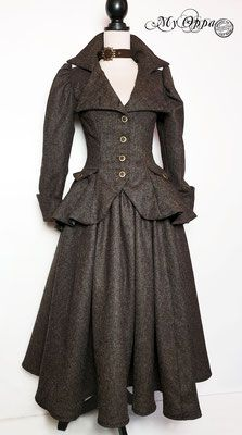 Site officiel My Oppa - site My Oppa Steampunk, Creations, Victorian, Dresses, Fashion, Fashion Ideas, Outfit, Vestidos, Moda