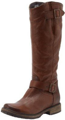 Steve Madden Women's Fairmont Knee-High Boot,Brown Leather,8 M US