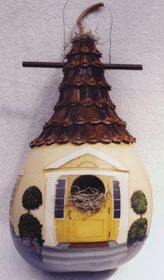 Colonial Birdhouse Gourd