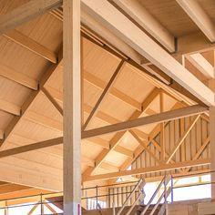 Nordic Structures | nordic.ca | Bois d'ingénierie | Produits | Bois lamellé-collé Nordic Lam