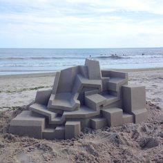 This impossibly smooth sand sculpture: Literally Just 21 Weirdly Satisfying Pictures Satisfying Pictures, Oddly Satisfying Videos, Most Satisfying, Satisfying Things, Make Everything Ok, Cool Pictures, Cool Photos, Interesting Photos, Sand Art