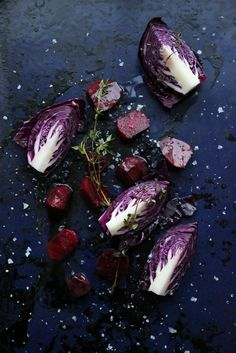 Roasted red cabbage and beetroot from www.melathome.com