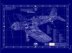 Boeing b 17 flying fortress blueprint stuff pinterest aircraft vought f4u corsair malvernweather Image collections
