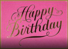 Happy Birthday Qoutes, Pink Happy Birthday, Happy Birthday Celebration, Birthday Blessings, Happy Birthday Pictures, Happy Birthday Greetings, Birthday Wuotes, Its My Birthday Month, Birthday Letters