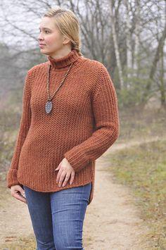 Ravelry: aisteb1973's Kusama hand knit pullover with a turtleneck