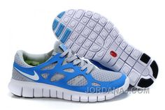 http://www.jordanaj.com/nike-free-run-2-men-pure-blue-grey-white.html NIKE FREE RUN 2 MEN PURE BLUE GREY WHITE Only $74.00 , Free Shipping!