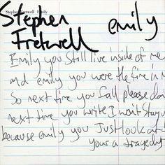 Stephen Fretwell - Emily