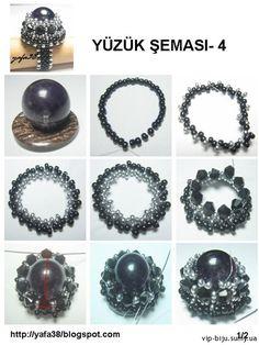 Esquemas de diferentes tipos de anillos