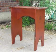 Shaker Style Side Table Great for Family by BuckCreekFurnishings, $129.00