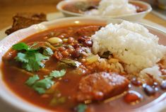 Portuguese Bean Soup with Rice