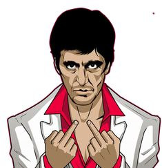 Scarface Png images in Collection) Page 3 Scarface Poster, Scarface Movie, Dope Cartoons, Dope Cartoon Art, Pop Art Drawing, Dark Art Drawings, Tupac Pictures, Joker Art, Movie Poster Art