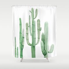 Buy Three Amigos White + Green by Nature Magick Shower Curtain by naturemagick. Worldwide shipping available at Society6.com. Just one of millions of high quality products available.