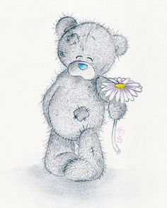 valentine bear cartoon