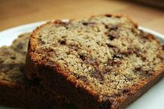 Banana Bread with coconut flour (gluten-free)