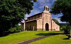 Iglesia de San Salvador de Priesca, Villaviciosa, Asturias. Prerrománico