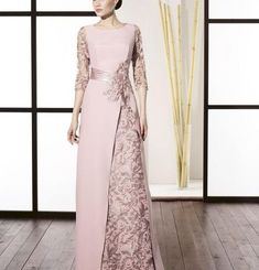 Super Ideas for dress winter bridesmaid haute couture Dress Brokat, Kebaya Dress, Elegant Dresses, Beautiful Dresses, Casual Dresses, Casual Outfits, Godmother Dress, Hijab Dress Party, Bridesmaid Dresses
