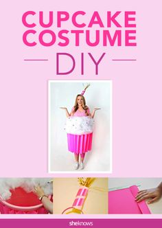 If youu0027re into the sweeter side of Halloween youu0027ll totally love. More information. More information. Coolest Cupcake Costume.  sc 1 st  Pinterest & Make a Cupcake Costume | Pinterest | Cupcake costume Costumes and ...