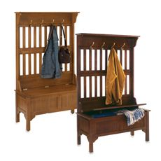 Home Styles Hall Tree and Storage Bench - Bed Bath & Beyond-like the lighter one