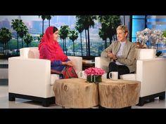 SheWired - WATCH: Remarkable Malala Yousafzai Talks Education with Ellen DeGeneres