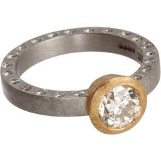 Old Cut Diamond Ring. Love this! Anyone want to let Kevin know..haha!
