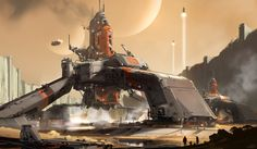 Halo 5 - concept , sparth . on ArtStation at https://www.artstation.com/artwork/1xzgG