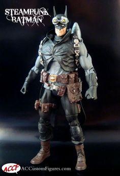 Steampunk Batman (DC Universe) Custom Action Figure