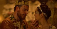 Costumes from Justin Kurzel's 2015 film production of Macbeth on display in Globe Exhibition.