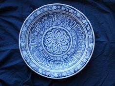 Iznik bowl - fired and finished! By Amata