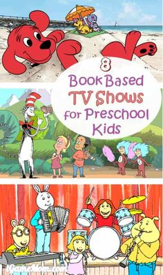 Educational TV shows for kids that are linked to children's favorite books - great early learning resources that are also entertaining. Stem Learning, Learning Resources, Early Learning, Educational Apps For Kids, Preschool Age, Young Children, Homeschooling, Activities For Kids, Tv Shows