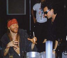 Axl Rose & Bono