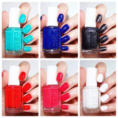 ¡Todos estos #tonos se llevan de maravilla con el #verano! Conoce la nueva #colección de Essie Viva Antigua. #nails #summer