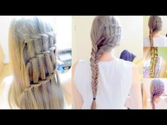 DIY Dutch Infinity Braid Hair Tutorial | coiffures faciles cheveux longs - YouTube