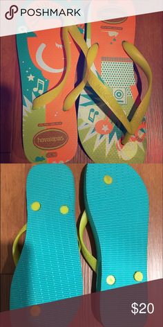 Authentic Berzelius Flip Flops This are a 7-7.5 size. They have never been used. Shoes Sandals